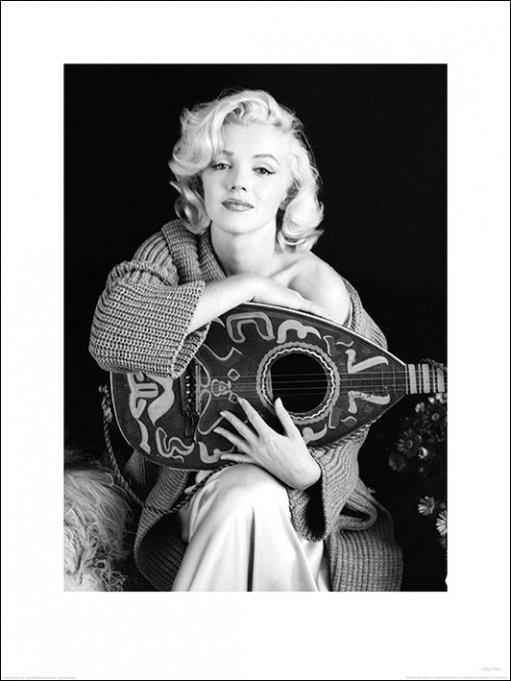 Reprodukce Marilyn Monroe - Lute
