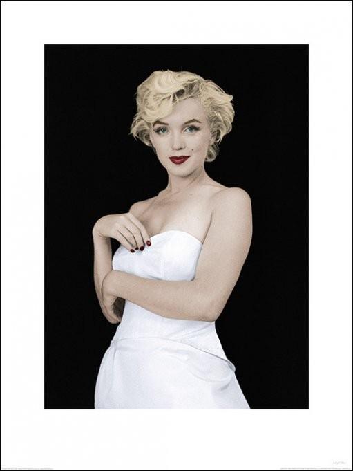 Reprodukce Marilyn Monroe - Pose