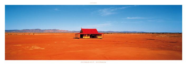 Outback Hut - Australia, Obrazová reprodukcia