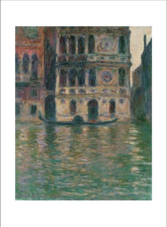 Reprodukce Palazzo Dario v Benátkách, 1908