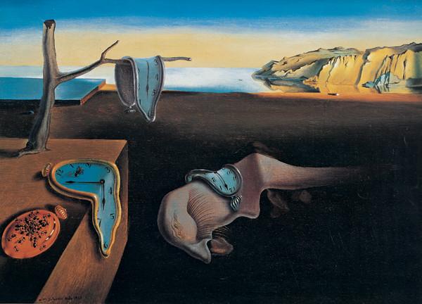 Obrazová reprodukce Persistence paměti, 1931