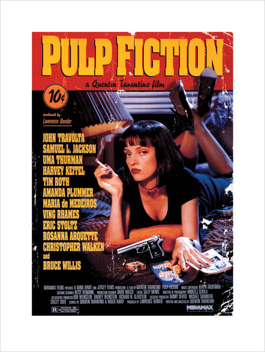 Pulp Fiction, Obrazová reprodukcia