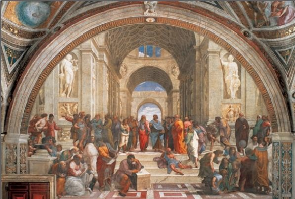 Raphael Sanzio - The School of Athens, 1509, Obrazová reprodukcia