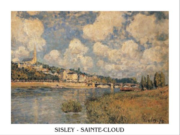 Reprodukce Saint-Cloud