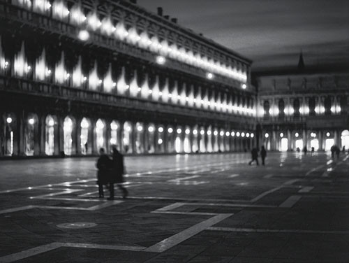 Reprodukce Saint Mark's square