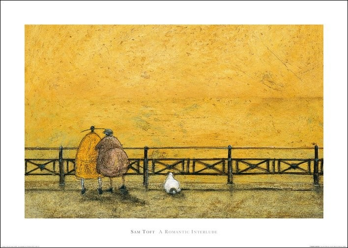 Sam Toft - A Romantic Interlude, Obrazová reprodukcia
