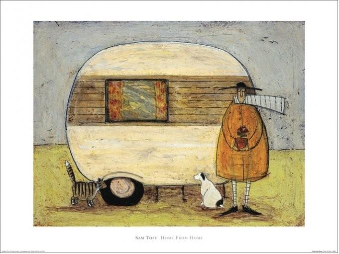 Sam Toft - Home From Home, Obrazová reprodukcia