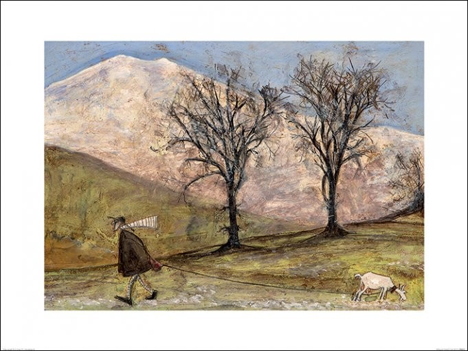 Reprodukce Sam Toft - Walking with Mansfield
