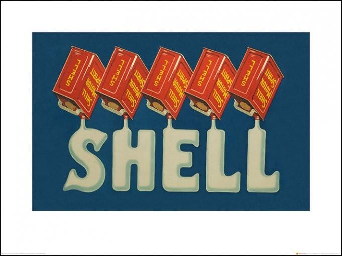 Shell - Five Cans 'Shell', 1931, Obrazová reprodukcia