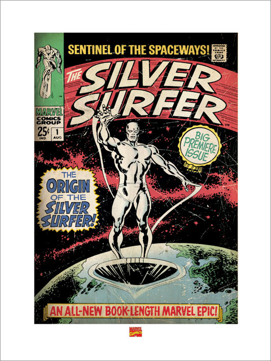 Reprodukce Silver Surfer