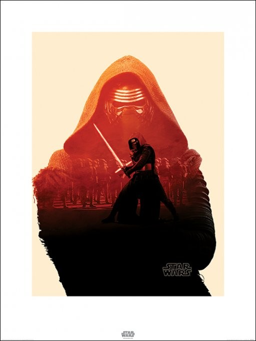 Reprodukce Star Wars VII: Síla se probouzí - Kylo Ren Tri
