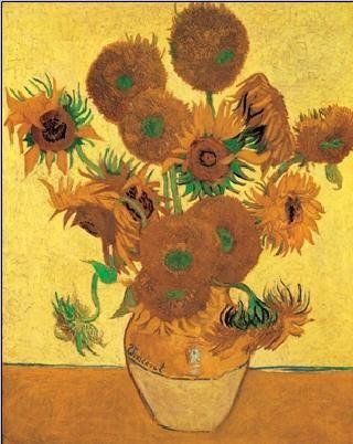 Sunflowers, 1888, Obrazová reprodukcia