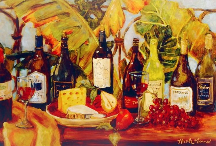Wine Table, Obrazová reprodukcia