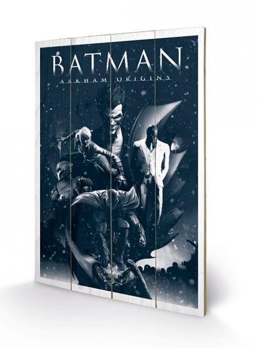 Obraz na dreve Batman Arkham Origins - Montage