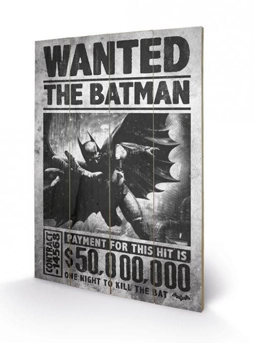 Obraz na dreve Batman Arkham Origins - Wanted