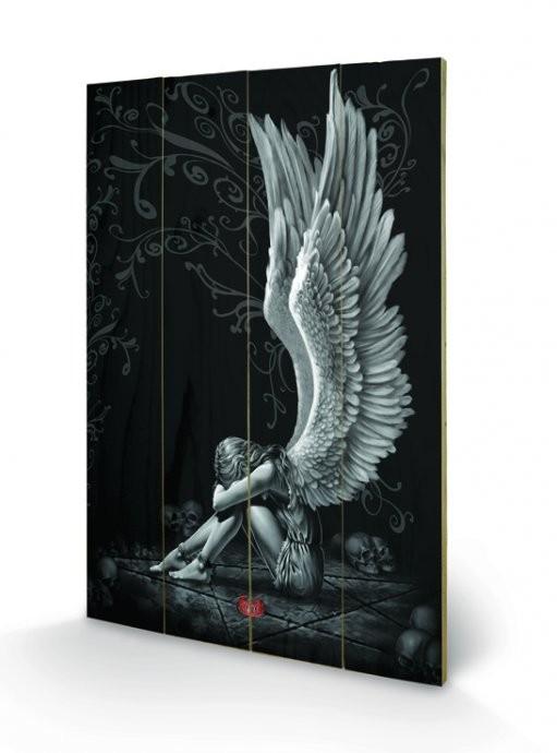 Obraz na dreve Spiral - Enslaved Angel