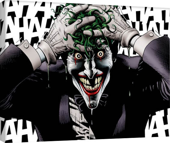 Obraz na plátně Batman - The Joker Killing Joke