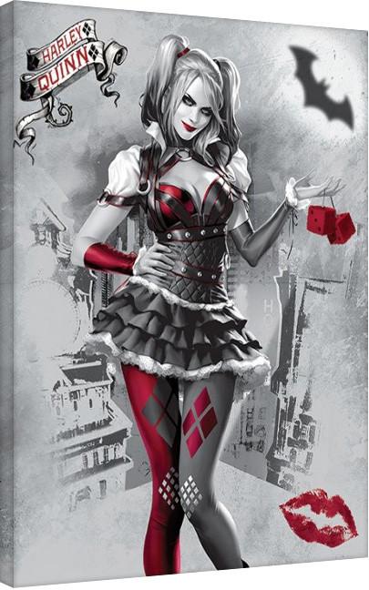 Obraz na plátně Harley Quinn