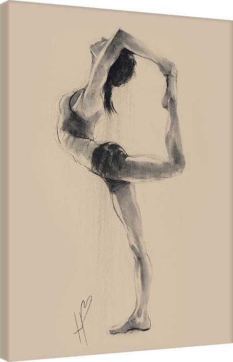 Obraz na plátně Hazel Bowman - Lord of the Dance Pose