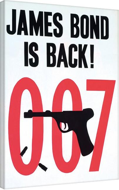 Obraz na plátně James Bond: Goldfinger - Sketch