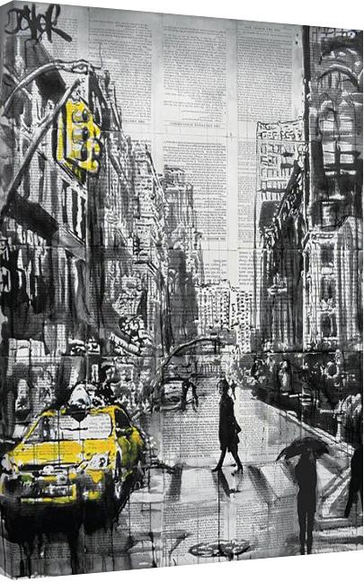 Obraz na plátně Loui Jover - Brooklyn Cab