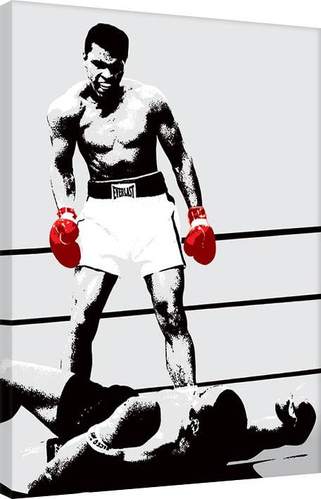 Obraz na plátně Muhammad Ali - Gloves - Corbis