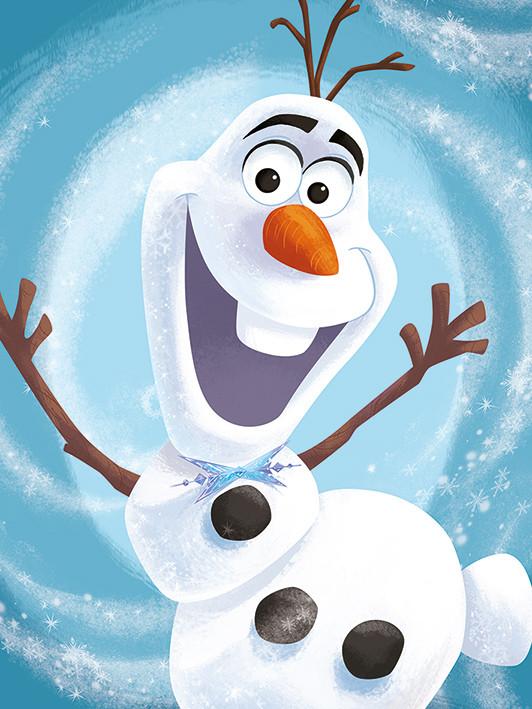 Obraz na plátně Olaf's Frozen Adventure - Happy