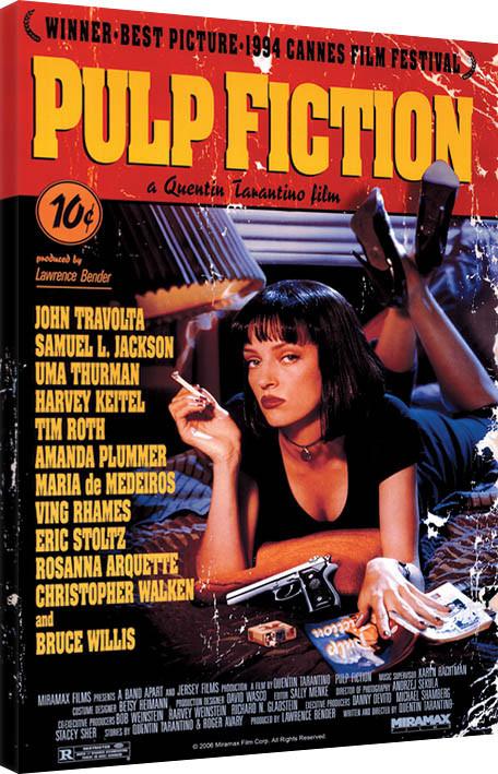 Obraz na plátně Pulp Fiction - Cover