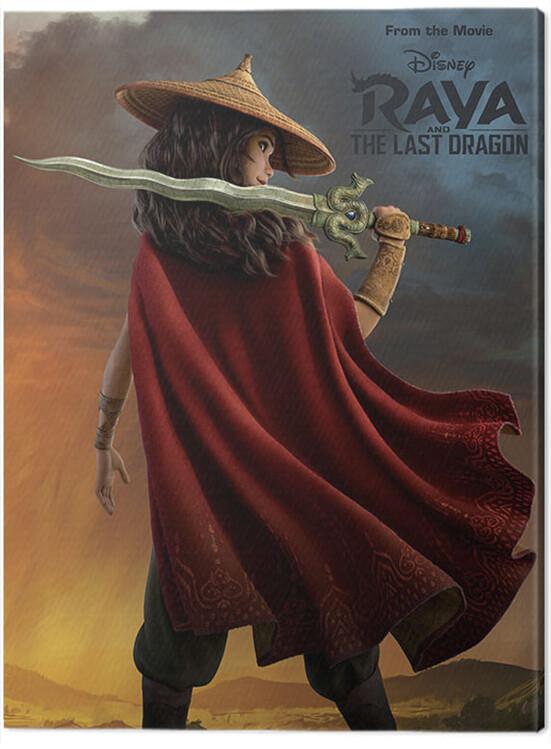 Obraz na plátně Raya and the Last Dragon - Before the Storm