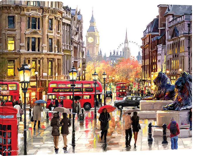 Obraz na plátně Richard Macneil - London Landscape