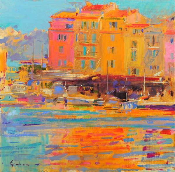 Obraz na plátně Saint-Tropez Reflections