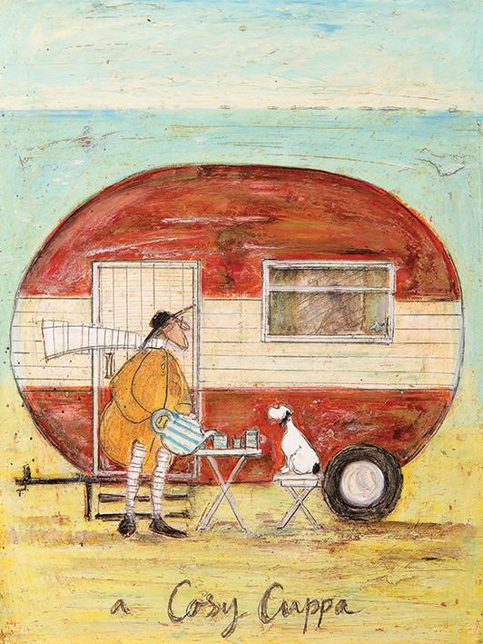 Obraz na plátně Sam Toft - A Cosy Cuppa