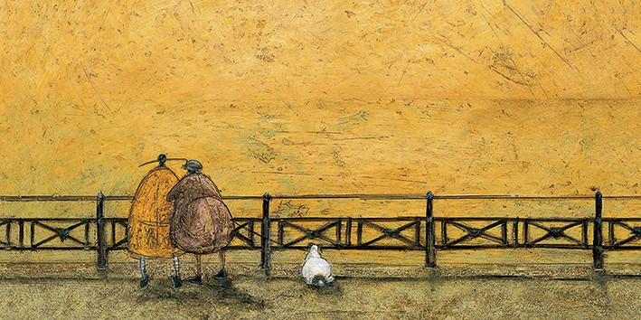 Obraz na plátně Sam Toft - A Romantic Interlude