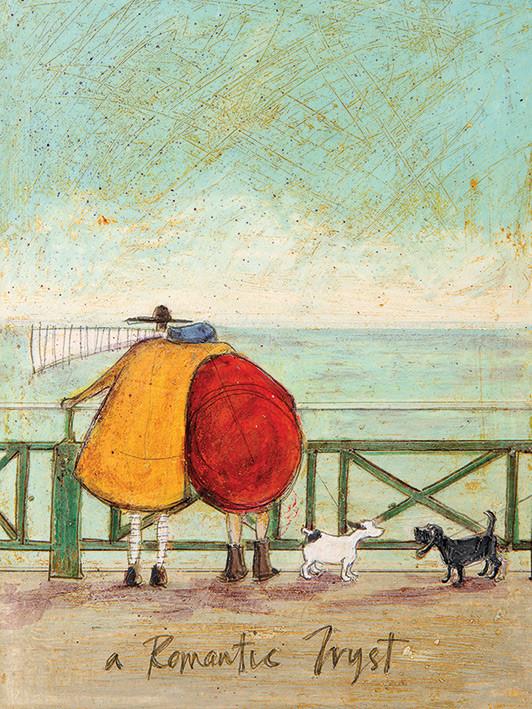 Obraz na plátně Sam Toft - A Romantic Tryst