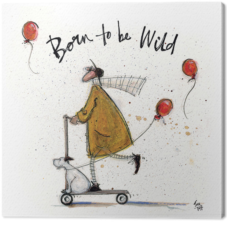 Obraz na plátně Sam Toft - Born to be Wild