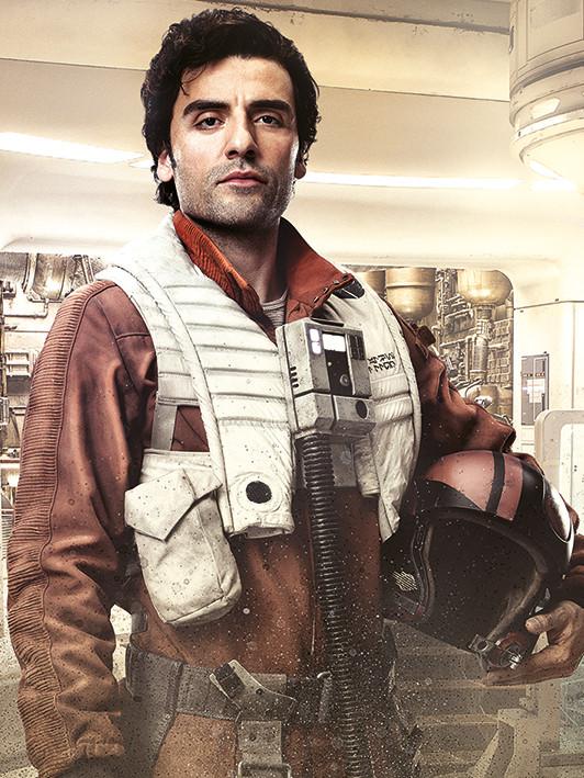 Obraz na plátně Star Wars: Poslední z Jediů - Poe Battle Ready