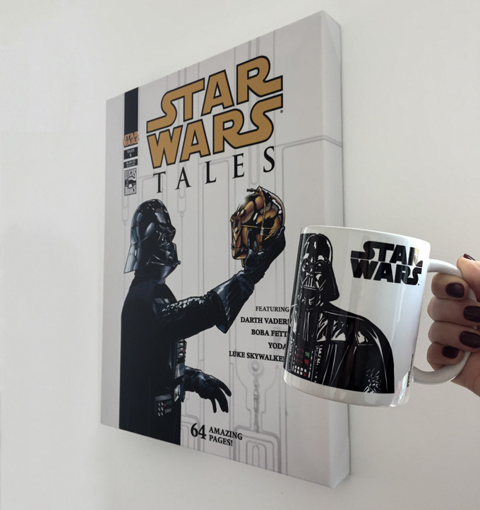 Obraz na plátně Star Wars - Tales