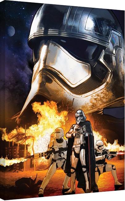 Obraz na plátně Star Wars VII: Síla se probouzí - Captain Phasma Art