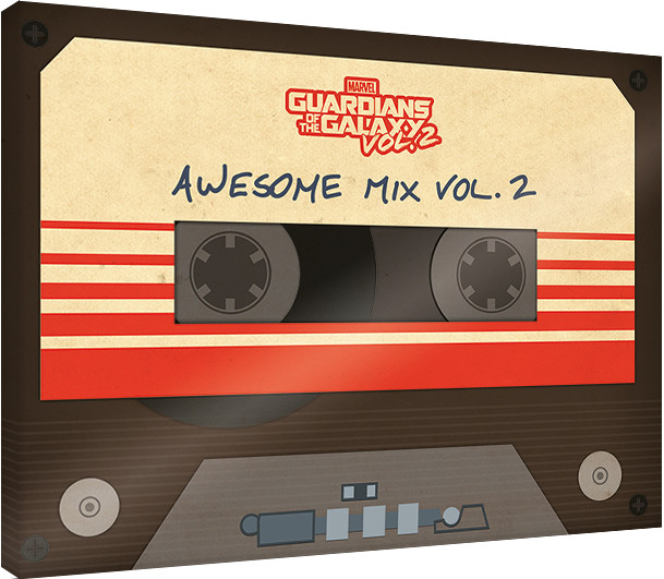 Obraz na plátně Strážci Galaxie - Awesome Mix Vol. 2