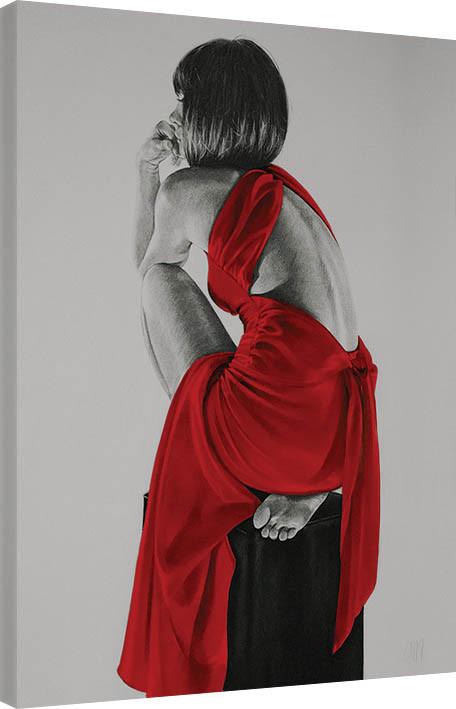 Obraz na plátně T. Good - Red XXIV