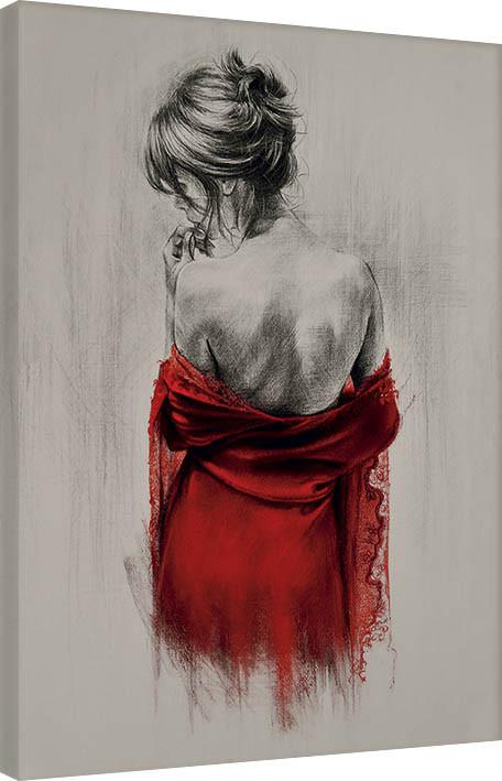 Obraz na plátně T. Good - Red XXXVIII