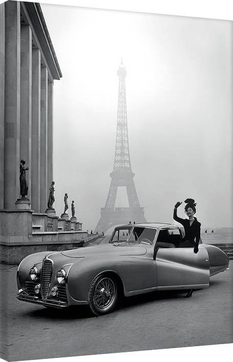 Obraz na plátně Time Life - France 1947