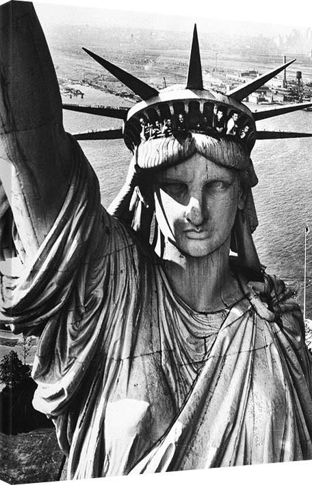 Obraz na plátně Time Life - Statue of Liberty