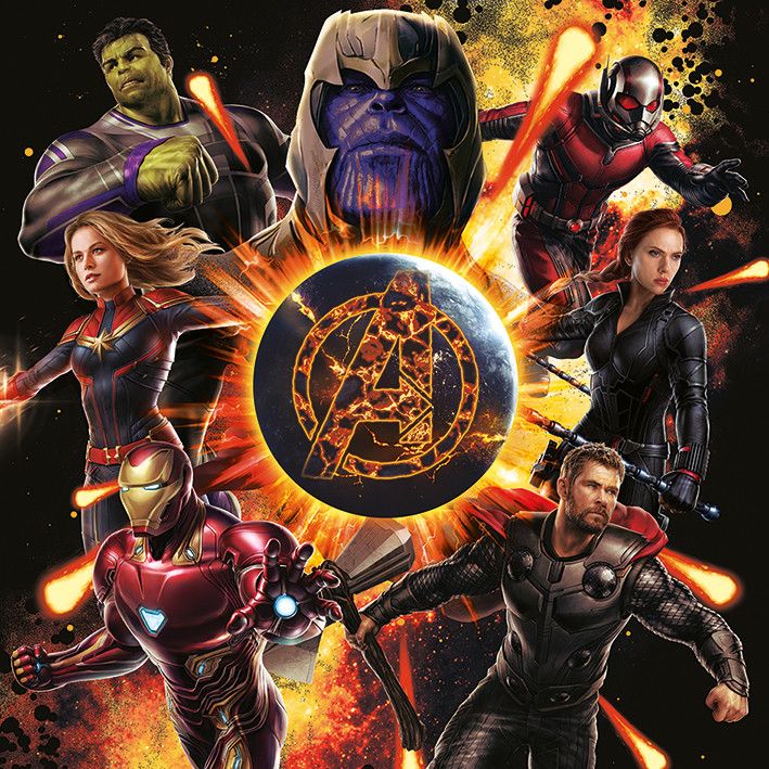 Obraz na plátně  Avengers: Endgame - Explosion