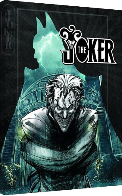 Obraz na plátně  Batman - The Joker Insane