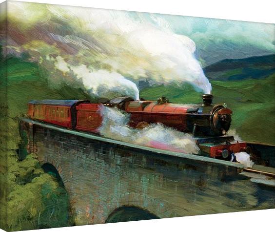 Obraz na plátně  Harry Potter-Hogwarts Express Landscape