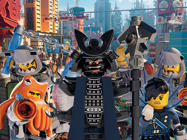 Obraz na plátně Lego Ninjago Film - Garmadon Group