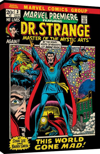 Obraz na plátně  Marvel Comics - Dr Strange - World Gone Mad