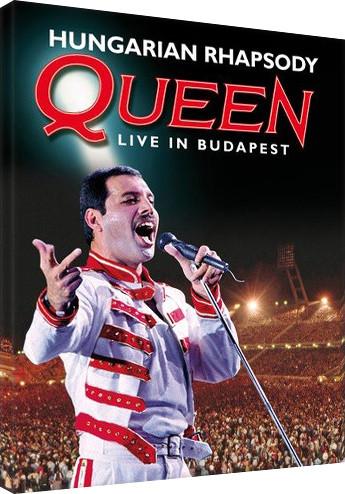 Obraz na plátně  Queen - Hungarian Rhapsody