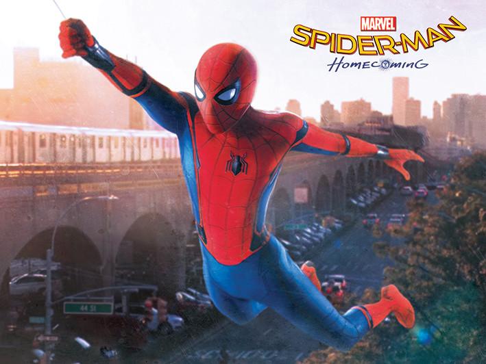 2e902d3c39 Obraz na plátně Spider-Man Homecoming - Swing - na Posters.cz